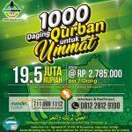 1000 Daging Qurban Untuk Ummat 1439 H