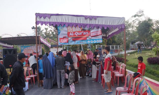 Tebar 370 Al Qur'an Sebelum Ramadhan