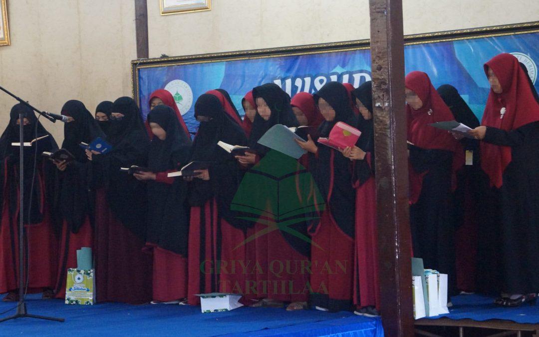 Wisuda Griya Qur'an Tartiilaa Angkatan 4