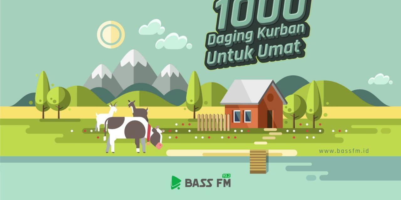 Berbagi Kurban Bersama Bass FM – 1441 H