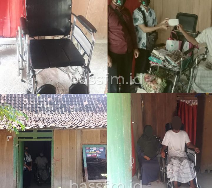 Kursi Roda Untuk Pak Suwandi
