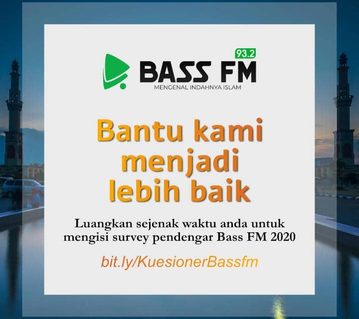 Survey Pendengar 2020